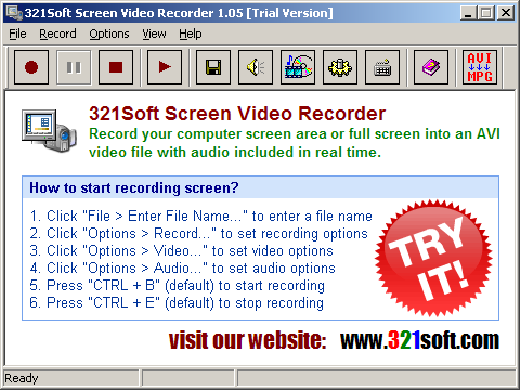 32One Screen Video Recorder